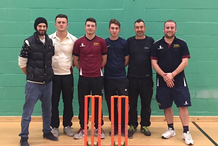 garboldisham CC norfolk winter indoor cricket league runners up 2016